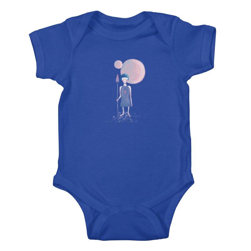 Girl from Kepler planet Kids Baby Bodysuit by jrbenavente's Shop