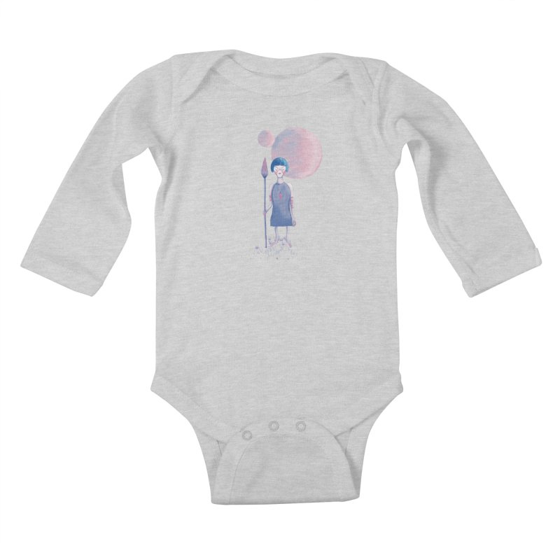 Girl Kids Baby Longsleeve Bodysuit by jrbenavente's Shop