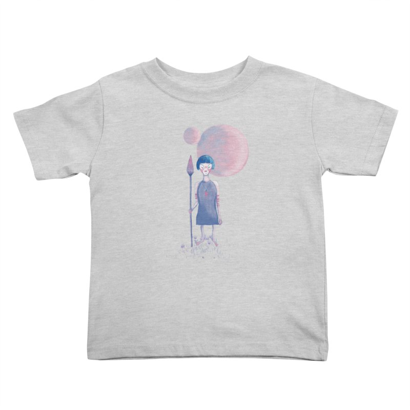 Girl from Kepler planet Kids Toddler T-Shirt by jrbenavente's Shop