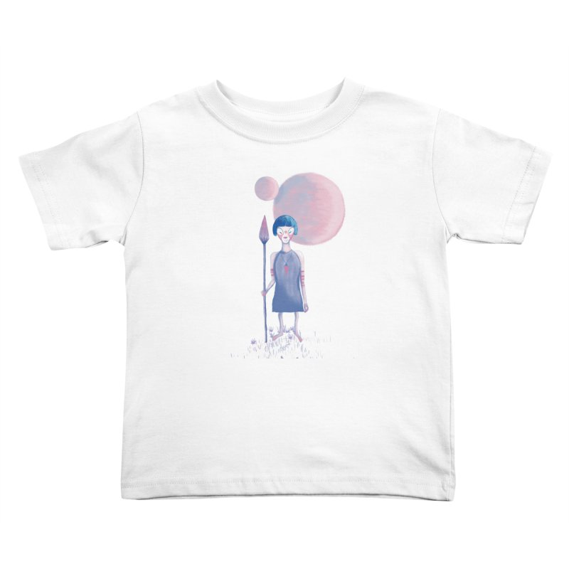 Girl from Kepler planet Kids Toddler T-Shirt by jrbenavente's Shop