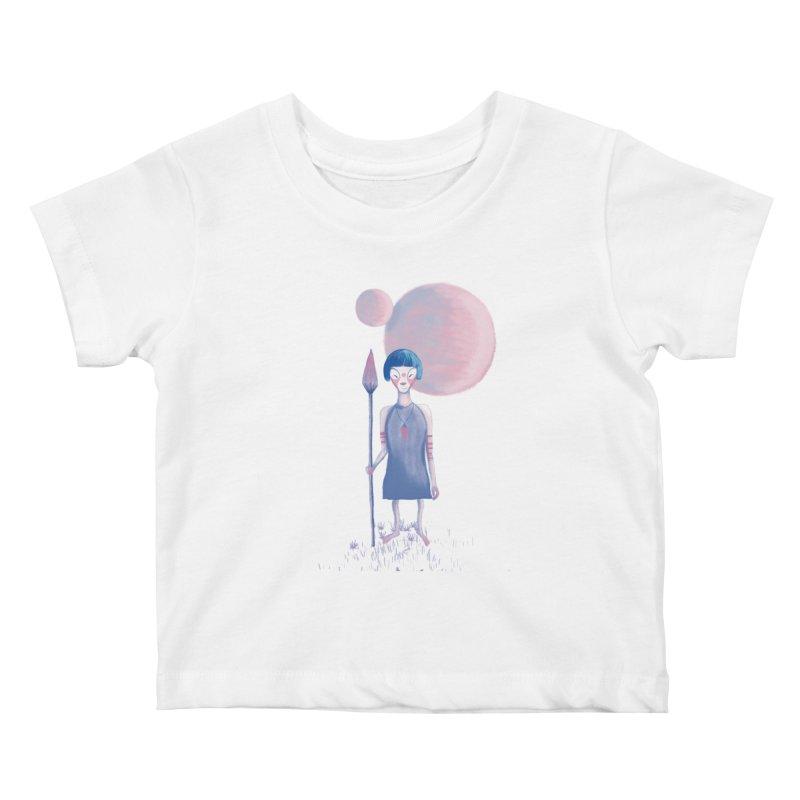 Girl from Kepler planet Kids Baby T-Shirt by jrbenavente's Shop