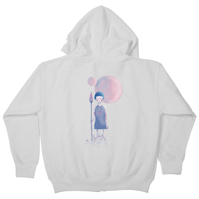 Girl Kids Zip-Up Hoody by jrbenavente's Shop