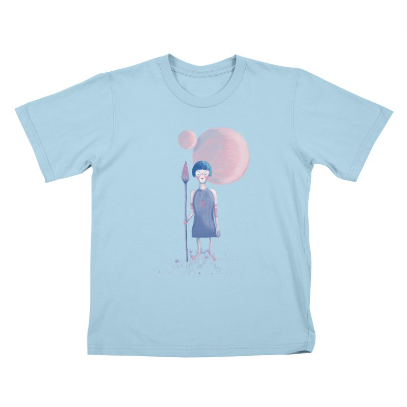 Girl Kids T-Shirt by jrbenavente's Shop