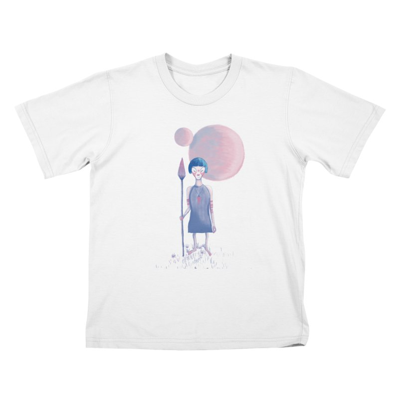 Girl Kids T-Shirt by jrbenavente's Shop