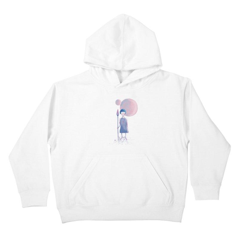 Girl from Kepler planet Kids Pullover Hoody by jrbenavente's Shop