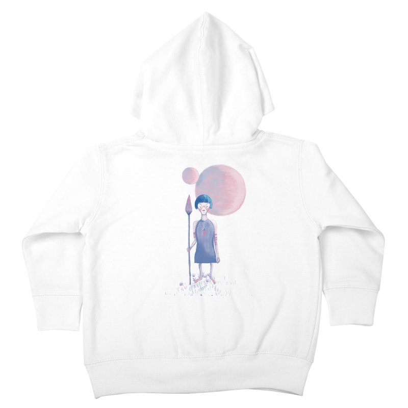 Girl from Kepler planet Kids Toddler Zip-Up Hoody by jrbenavente's Shop