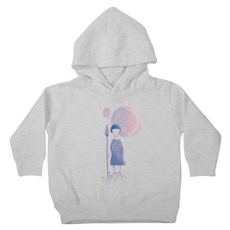 Girl from Kepler planet Kids Toddler Pullover Hoody by jrbenavente's Shop