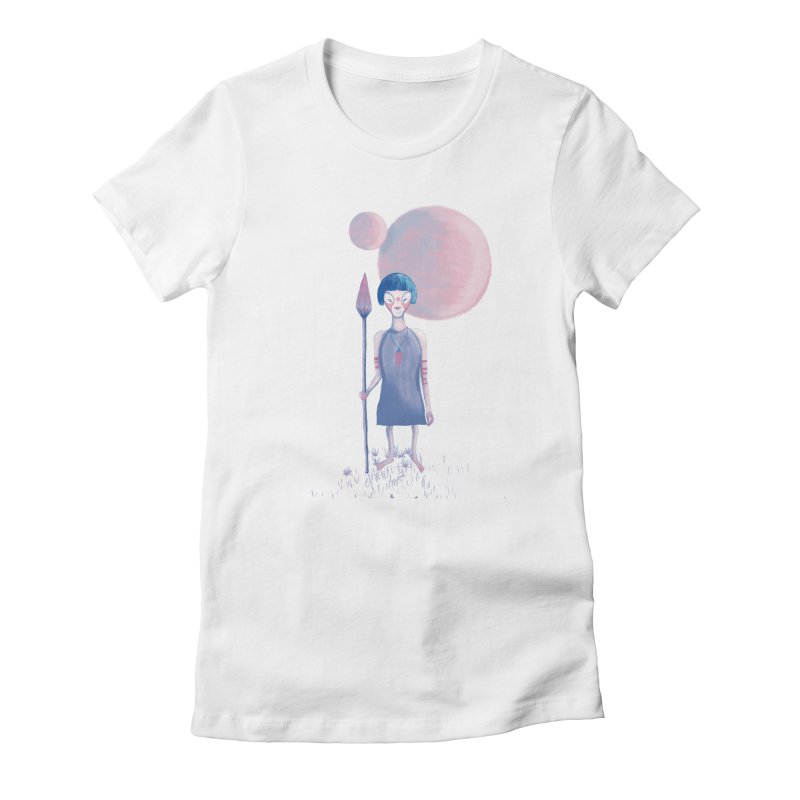 Girl Women's Fitted T-Shirt by jrbenavente's Shop