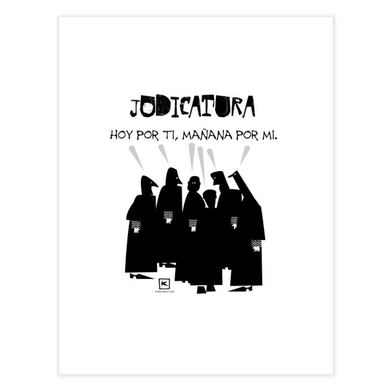 Juegos de la Judicatura Home Fine Art Print by planetakike's Artist Shop