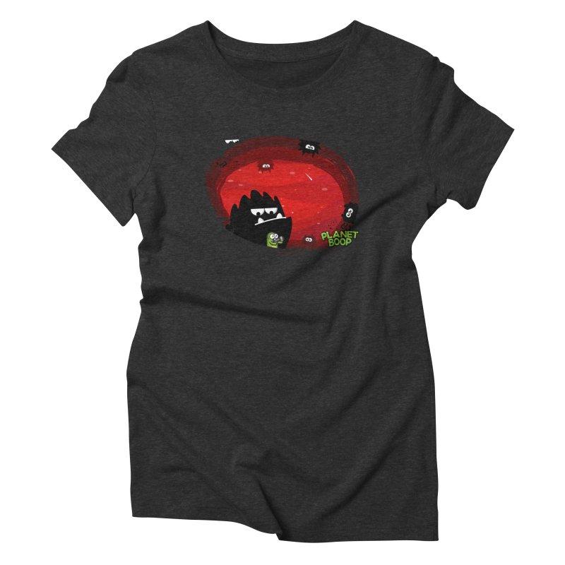 Darkie Invasion Women's T-Shirt by Planet Boop