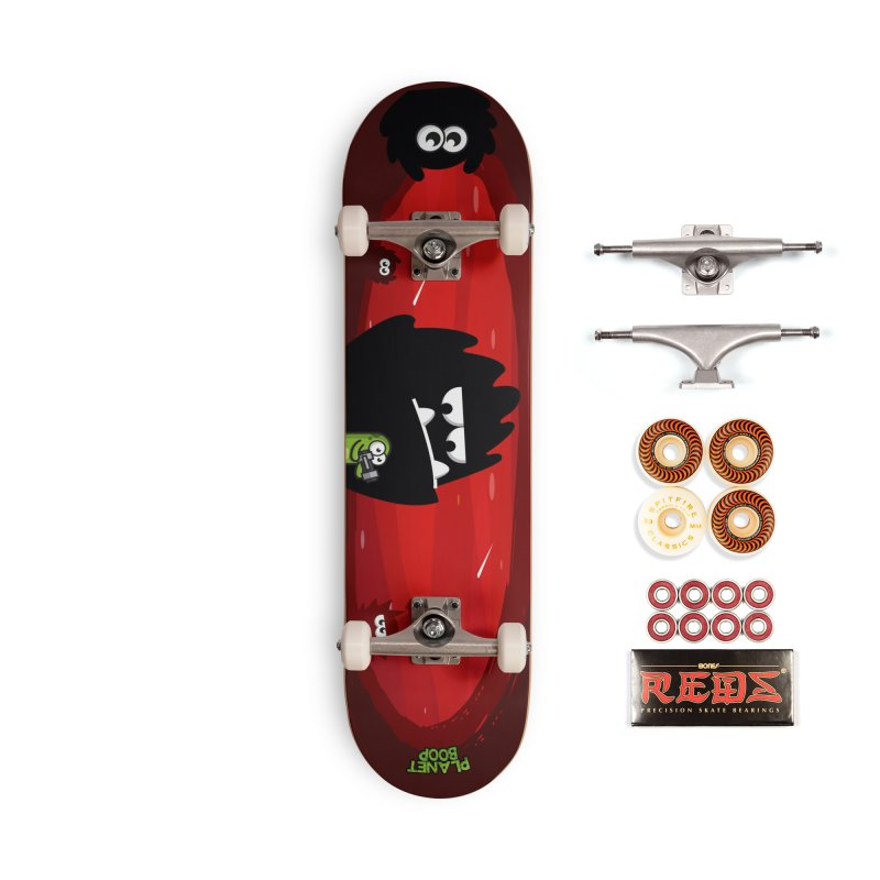 Darkie Invasion Accessories Skateboard by Planet Boop