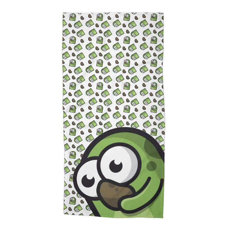 Boops and Potatoes Accessories Beach Towel by Planet Boop