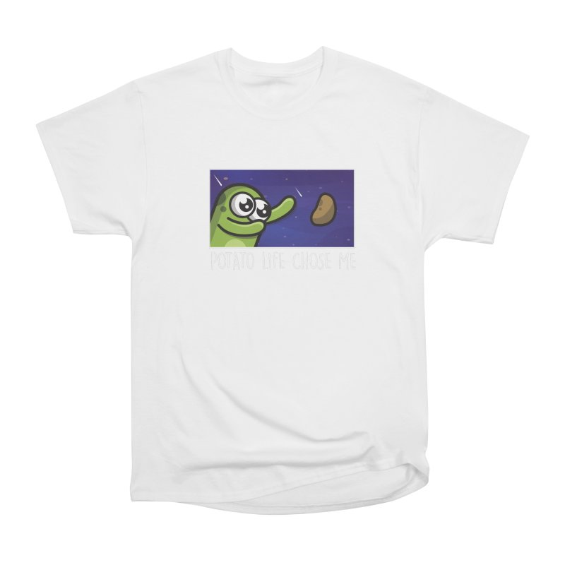 Potato life chose me Women's T-Shirt by Planet Boop