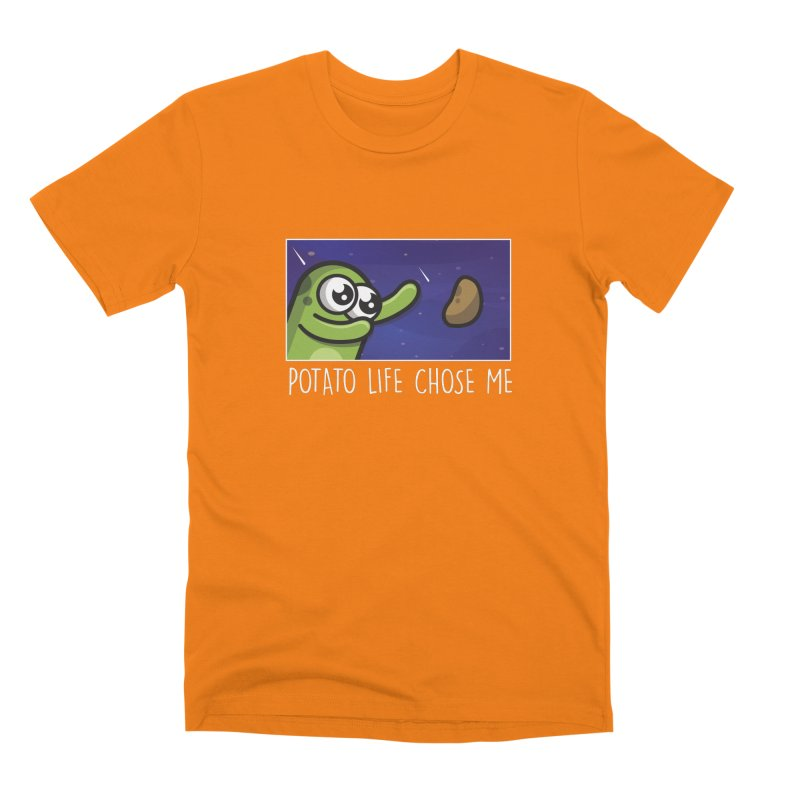 Potato life chose me Men's T-Shirt by Planet Boop