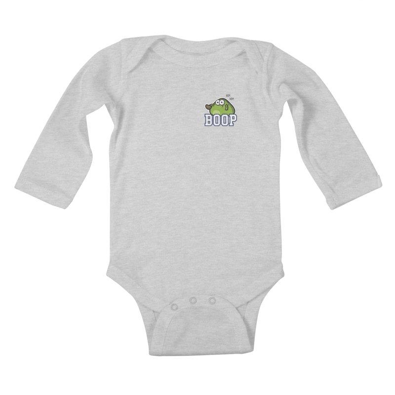 Sporty Boop Kids Baby Longsleeve Bodysuit by Planet Boop