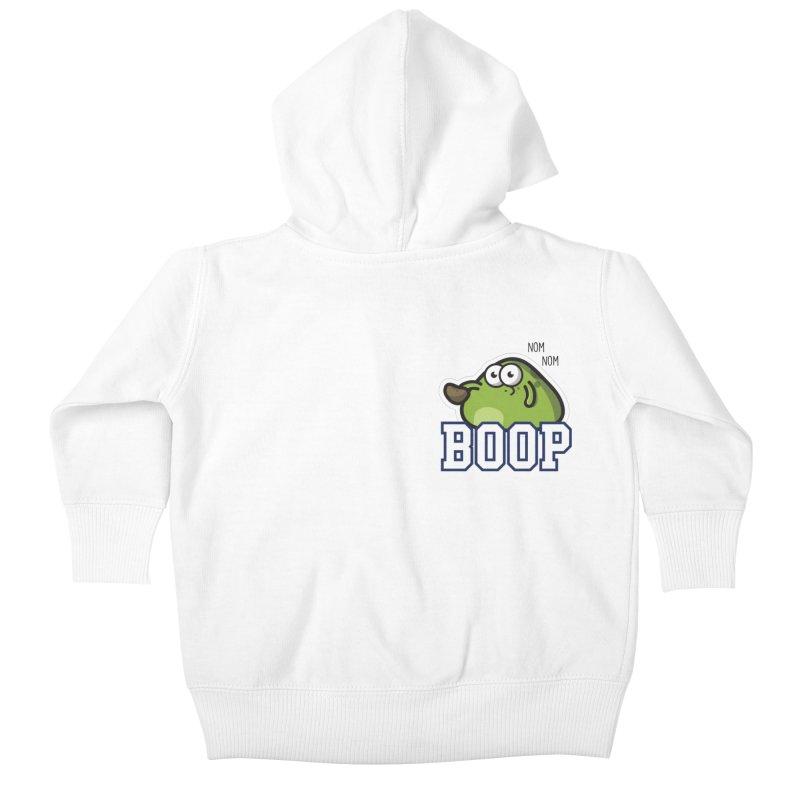 Sporty Boop Kids Baby Zip-Up Hoody by Planet Boop