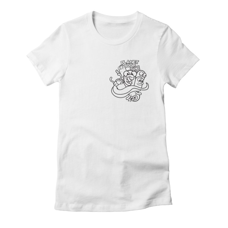Doodle Boop Women's T-Shirt by Planet Boop