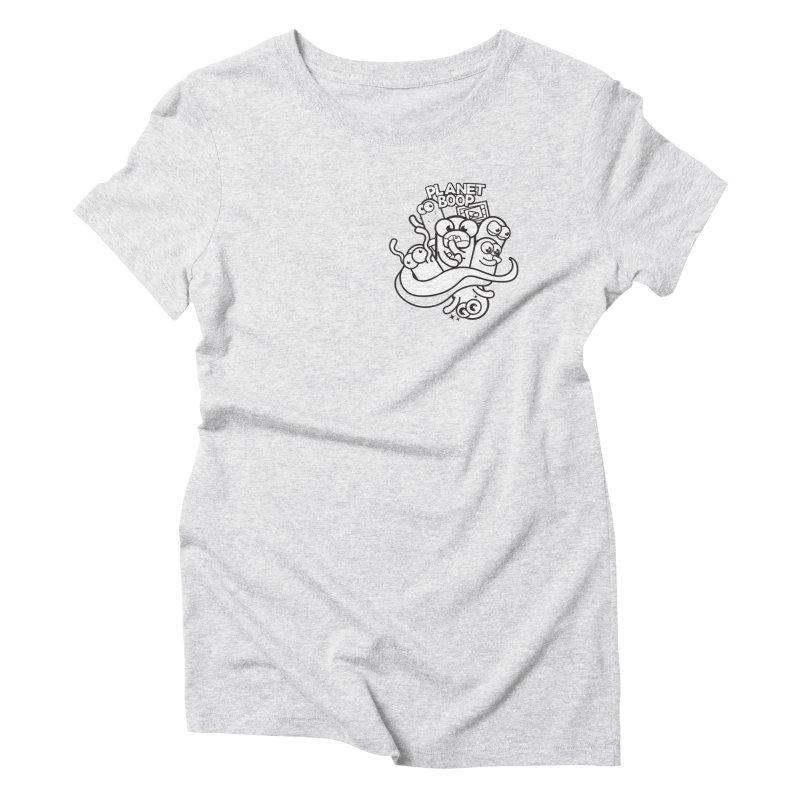 Doodle Boop Women's T-Shirt by Planet Boop