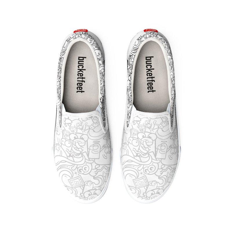 Doodle Boop Men's Shoes by Planet Boop