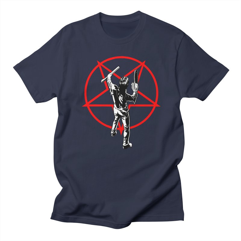 BoomStar in Men's Regular T-Shirt Navy by Planet Henderson's Artist Shop