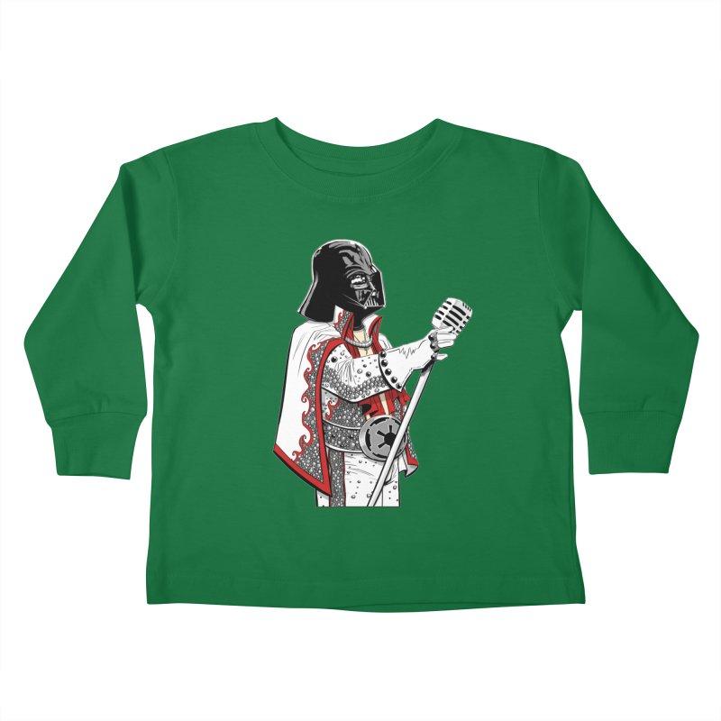 Darth Presley! Kids Toddler Longsleeve T-Shirt by Planet Henderson's Artist Shop
