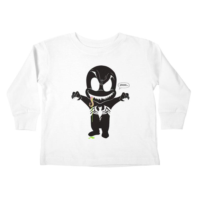 Da Widdawest Bad Guy Kids Toddler Longsleeve T-Shirt by Planet Henderson's Artist Shop