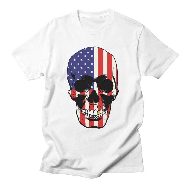 Stars & Stripes Men's T-Shirt by Planet Henderson's Artist Shop