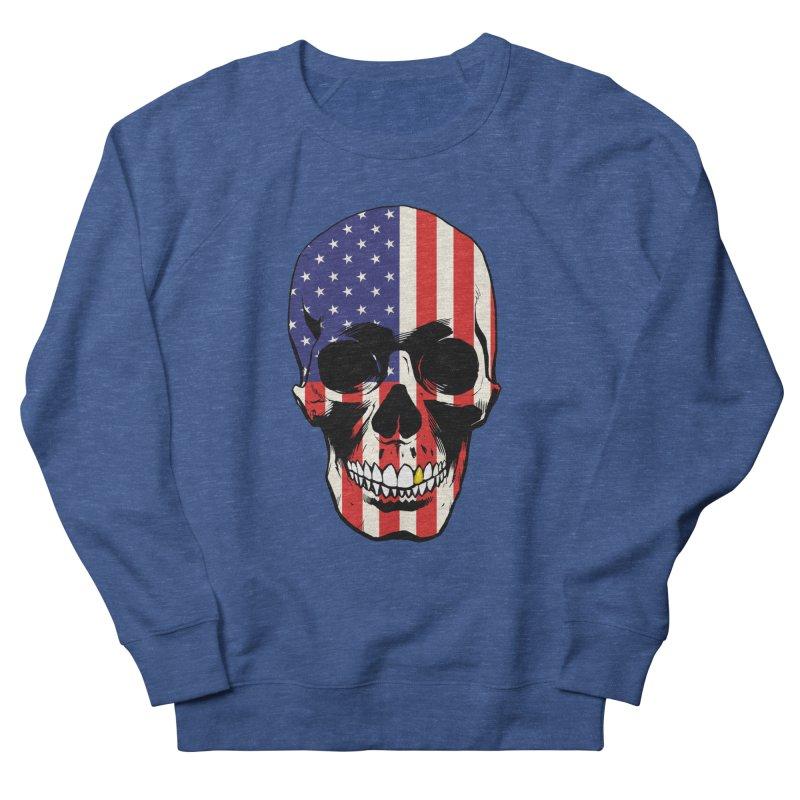 Stars & Stripes Men's Sweatshirt by Planet Henderson's Artist Shop