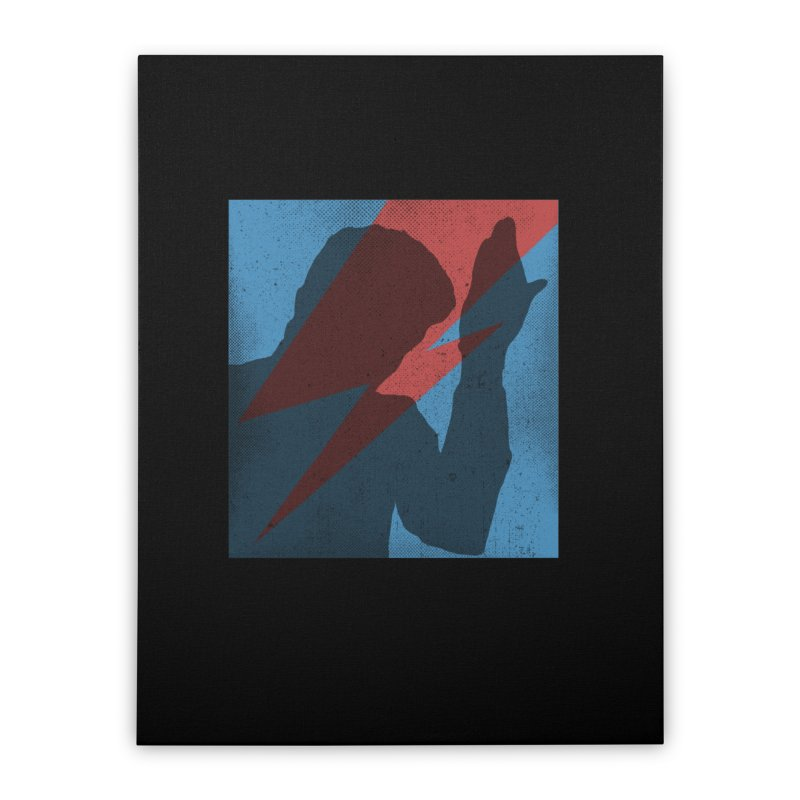 Mr. Stardust Home Stretched Canvas by Planet Henderson's Artist Shop