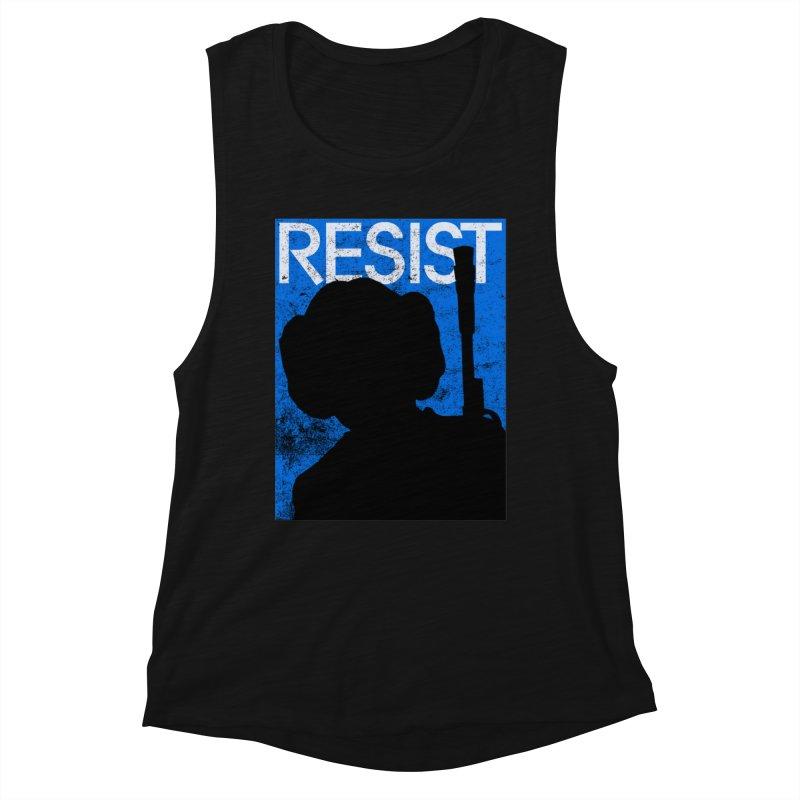 Resist! Women's Tank by Planet Henderson's Artist Shop