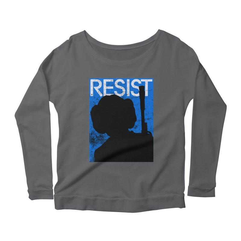 Resist! Women's Longsleeve T-Shirt by Planet Henderson's Artist Shop
