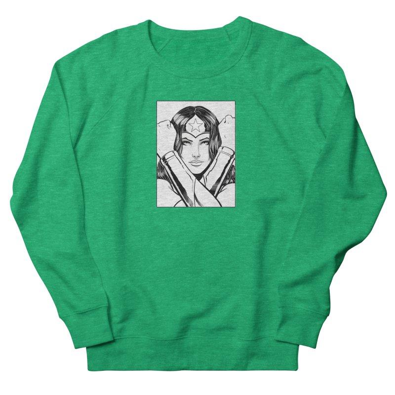 The Amazon (B&W) Women's Sweatshirt by Planet Henderson's Artist Shop
