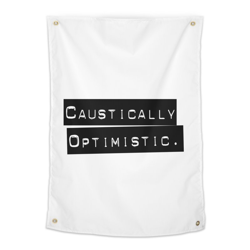Caustically Optimistic Home Tapestry by Planet Henderson's Artist Shop