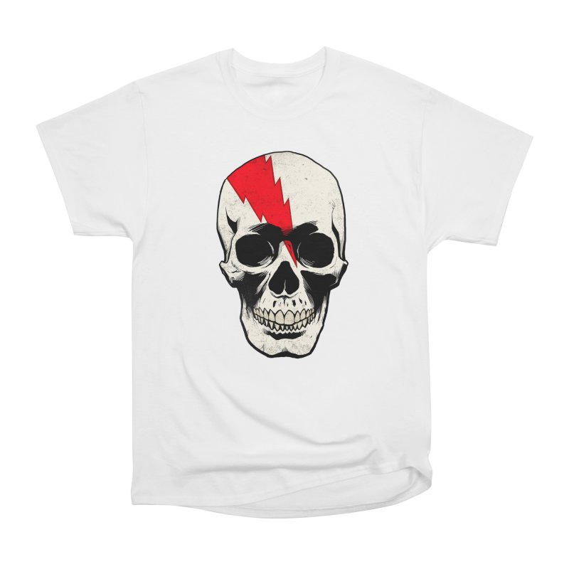 Bolt Skull (Version A) Women's T-Shirt by Planet Henderson's Artist Shop