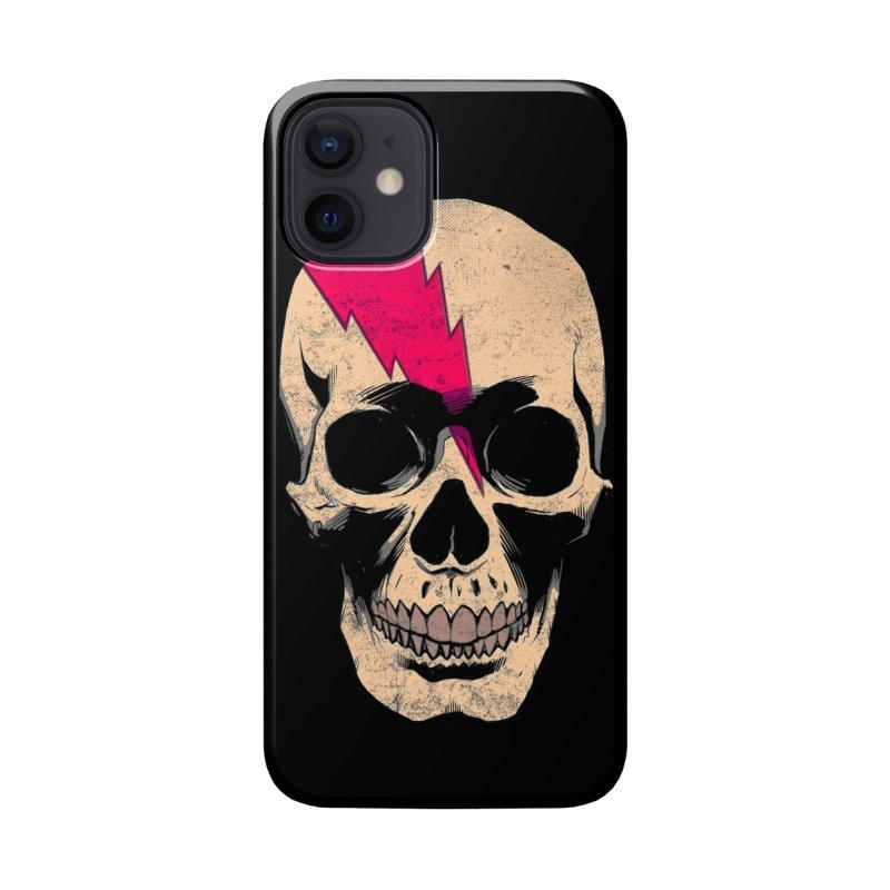 Bolt Skull (Version B) Accessories Phone Case by Planet Henderson's Artist Shop