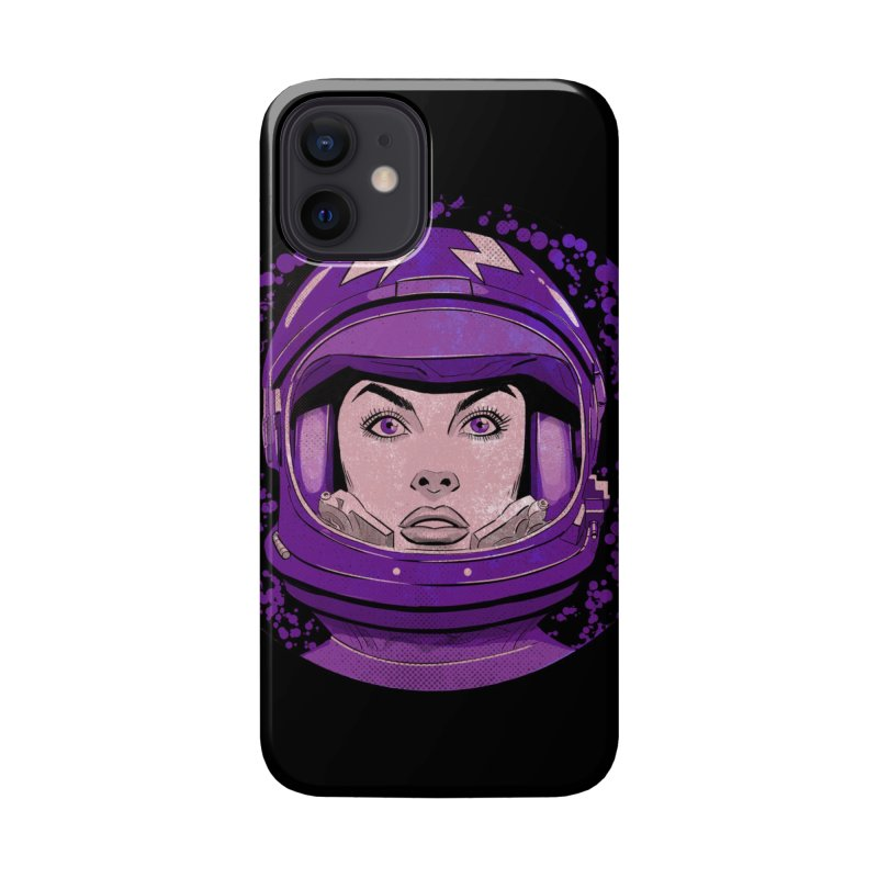 Astro-Girl! (Vintage) Accessories Phone Case by Planet Henderson's Artist Shop