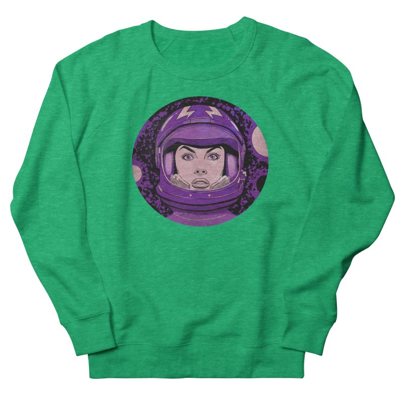 Astro-Girl! (Vintage) Women's Sweatshirt by Planet Henderson's Artist Shop