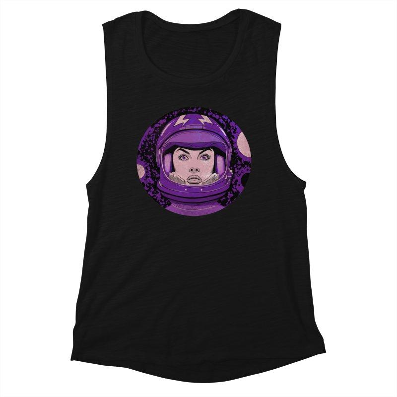 Astro-Girl! (Vintage) Women's Tank by Planet Henderson's Artist Shop