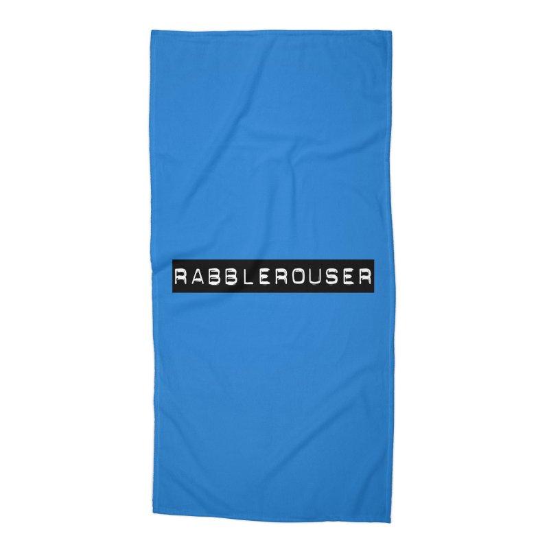 Rabblerouser Accessories Beach Towel by Planet Henderson's Artist Shop