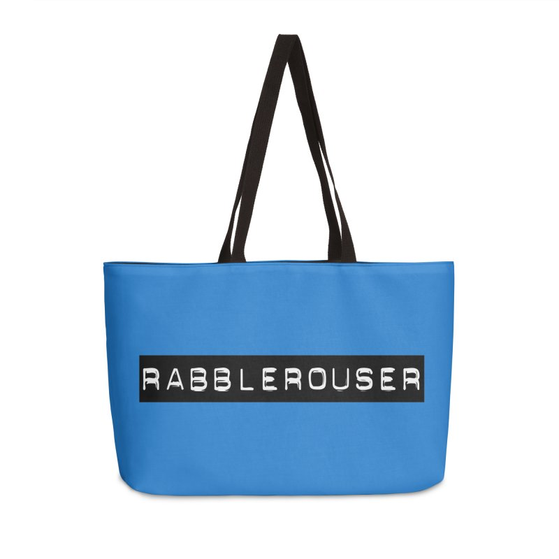 Rabblerouser Accessories Weekender Bag Bag by Planet Henderson's Artist Shop