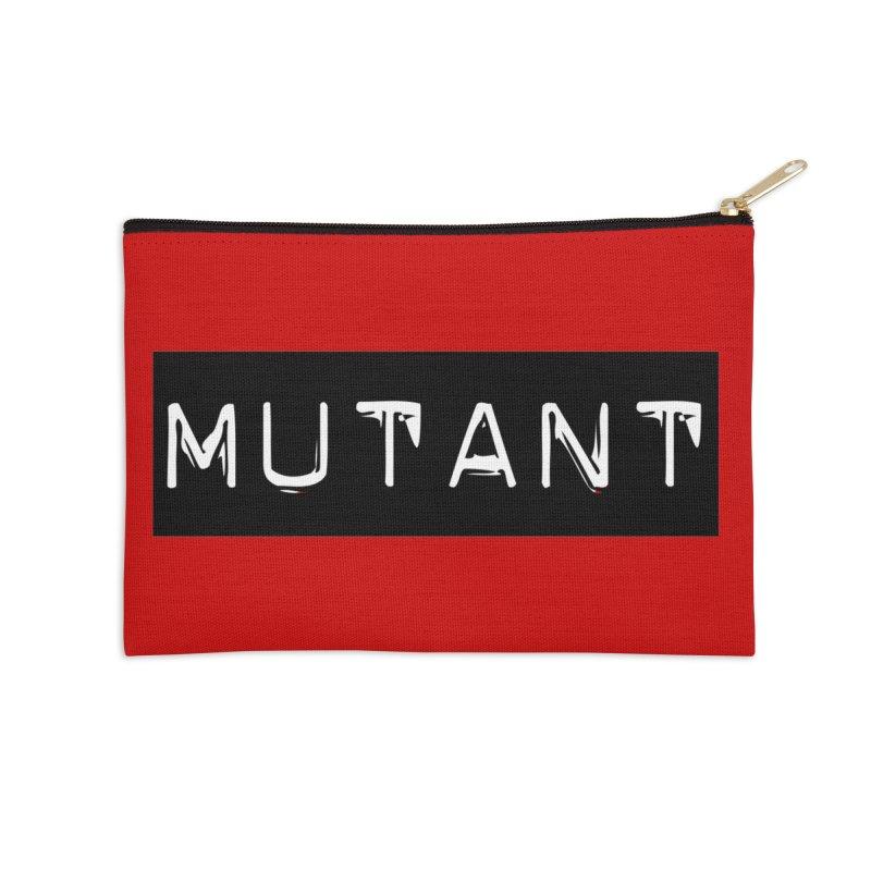 Mutant Accessories Zip Pouch by Planet Henderson's Artist Shop