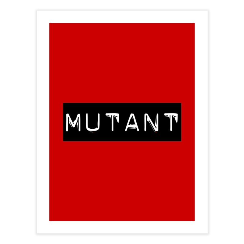 Mutant Home Fine Art Print by Planet Henderson's Artist Shop