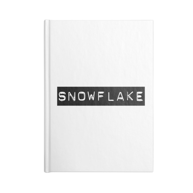 Snowflake Accessories Notebook by Planet Henderson's Artist Shop