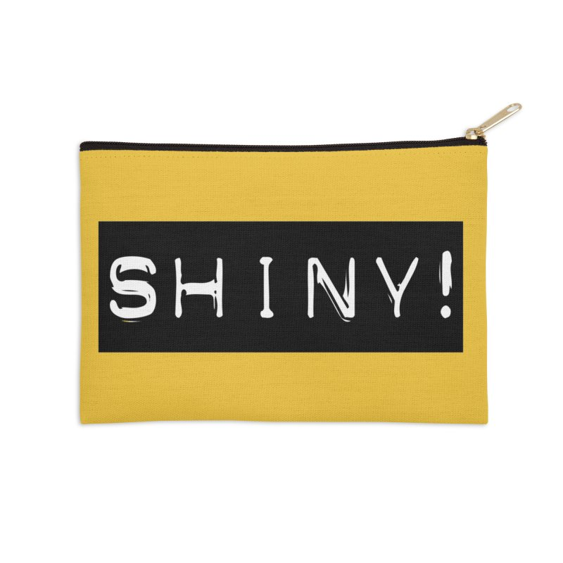 Shiny! Accessories Zip Pouch by Planet Henderson's Artist Shop