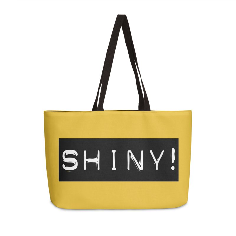 Shiny! Accessories Weekender Bag Bag by Planet Henderson's Artist Shop