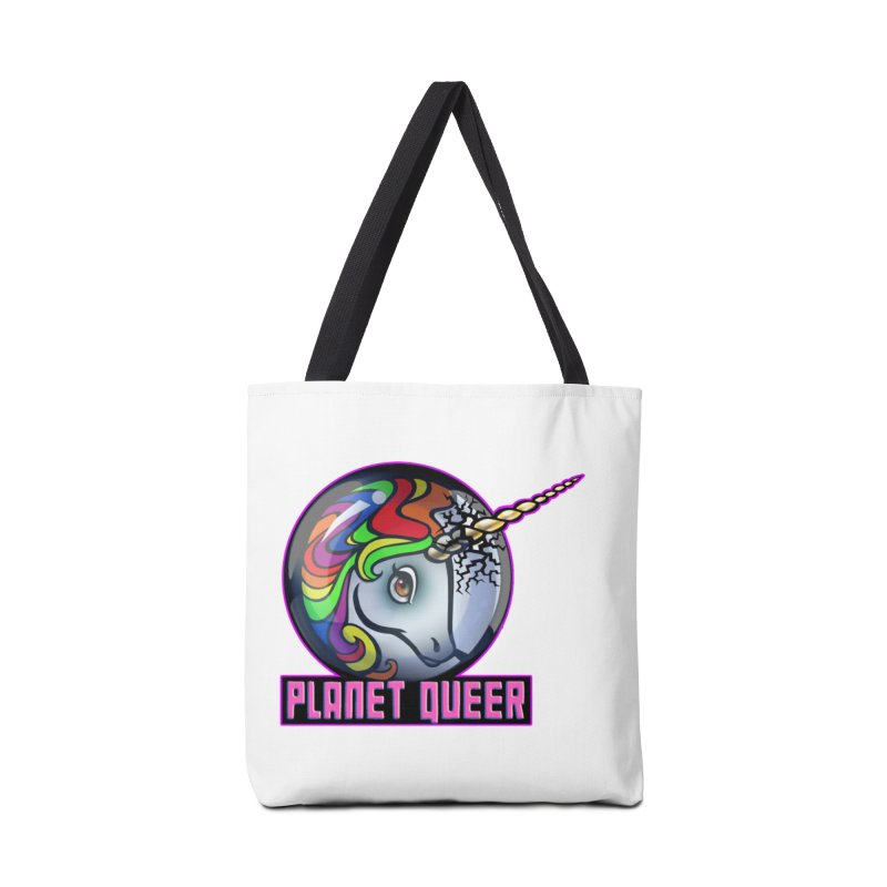 PLANET QUEER 9-Year Anniversary Merch Accessories Bag by Planet Queer's Artist Shop