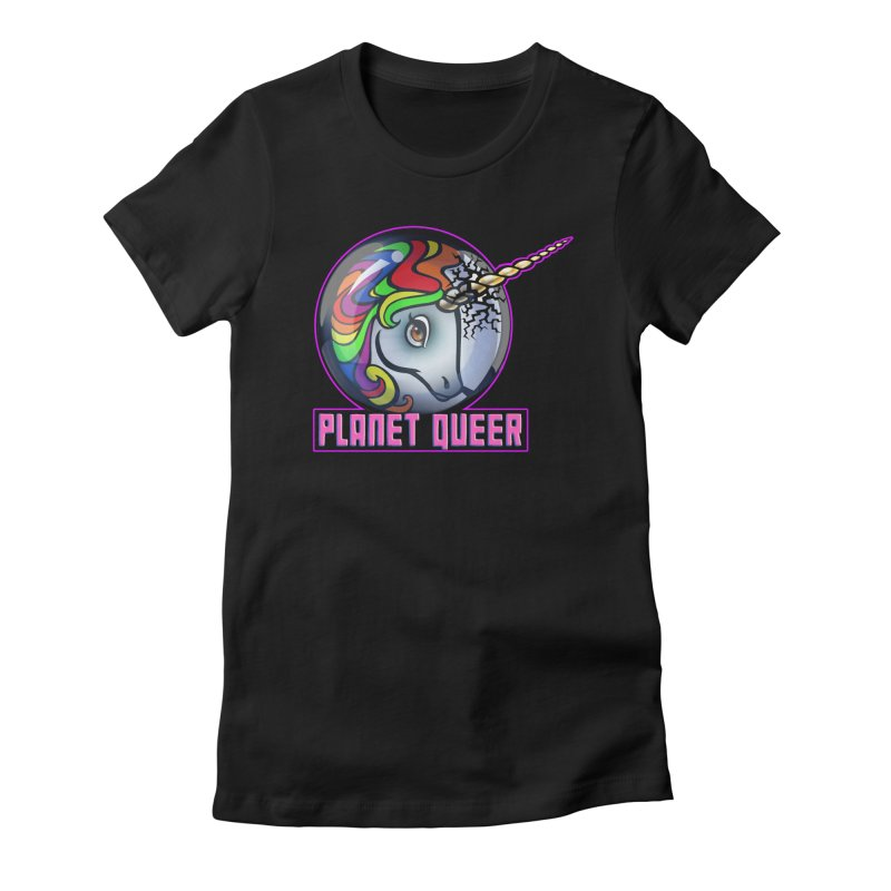 PLANET QUEER 9-Year Anniversary Merch Women's T-Shirt by Planet Queer's Artist Shop