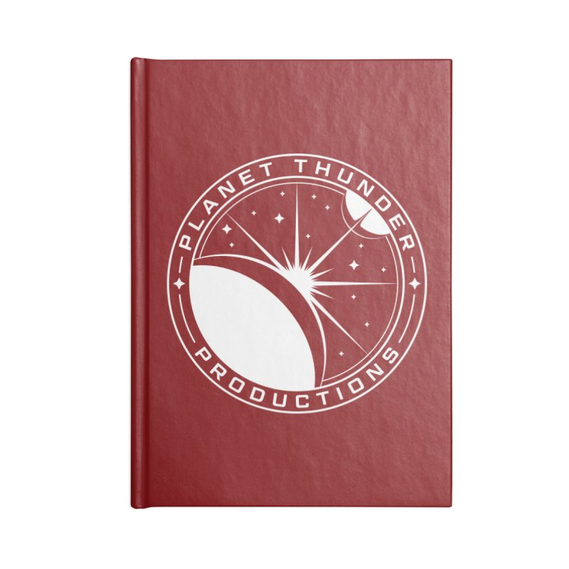 Planet Thunderpatch - WHITE Accessories Notebook by Planet Thunder Shop Stop