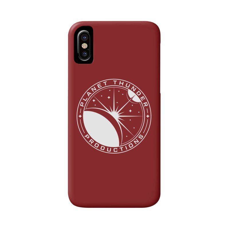 Planet Thunderpatch - WHITE Accessories Phone Case by Planet Thunder Shop Stop