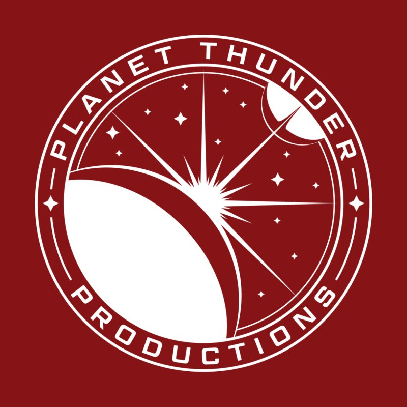 Planet Thunderpatch - WHITE Men's T-Shirt by Planet Thunder Shop Stop